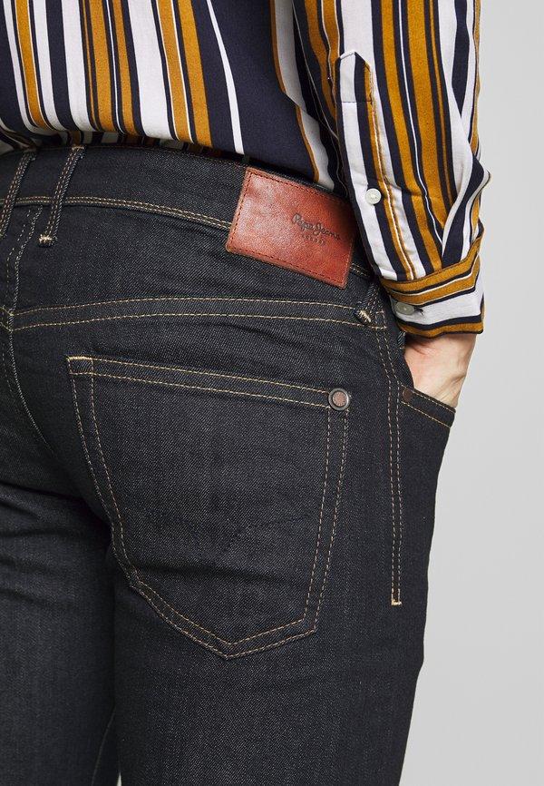 Pepe Jeans HATCH - Jeansy Slim Fit - blue denim/niebieski denim Odzież Męska IQNI
