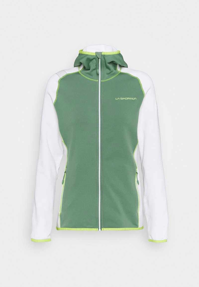 La Sportiva - ALARIS HOODY - Fleecejakker - grass green/white