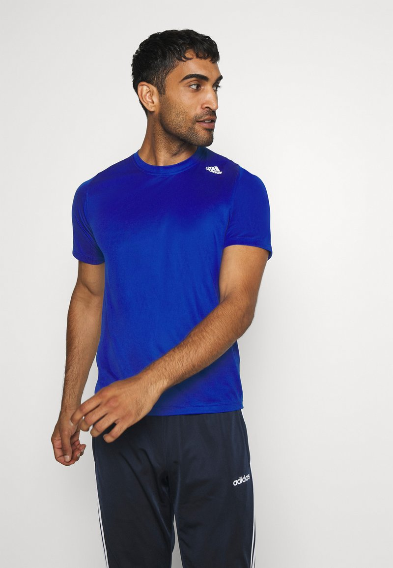 adidas Performance - T-shirt med print - royblu