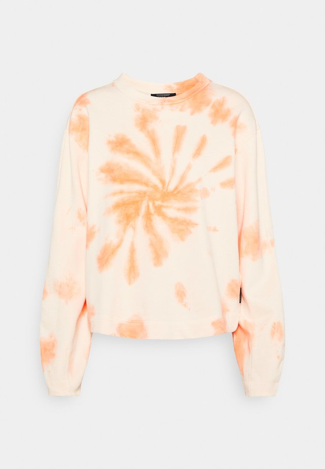 Sweatshirt - beige/orange