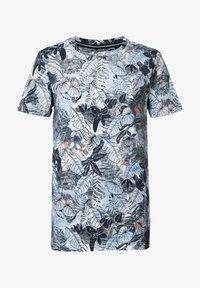Petrol Industries - Print T-shirt - royalblau - 0