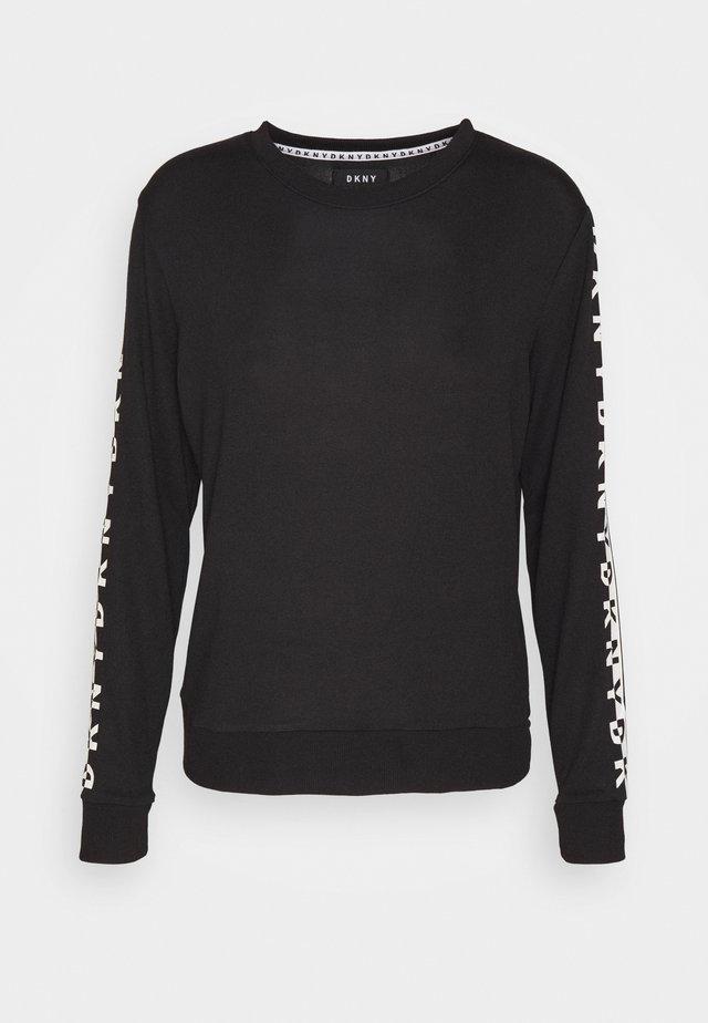 SLEEP TOP - Nachtwäsche Shirt - black