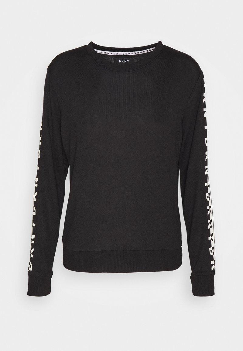 DKNY Intimates - SLEEP TOP - Pyjama top - black
