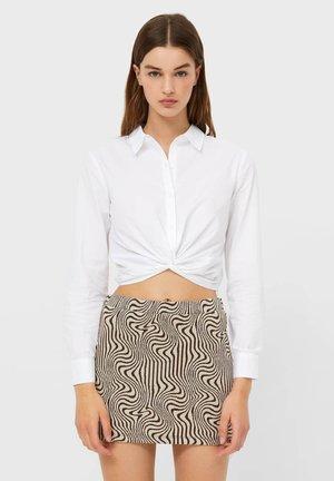 MIT KNOTEN  - Košile - white