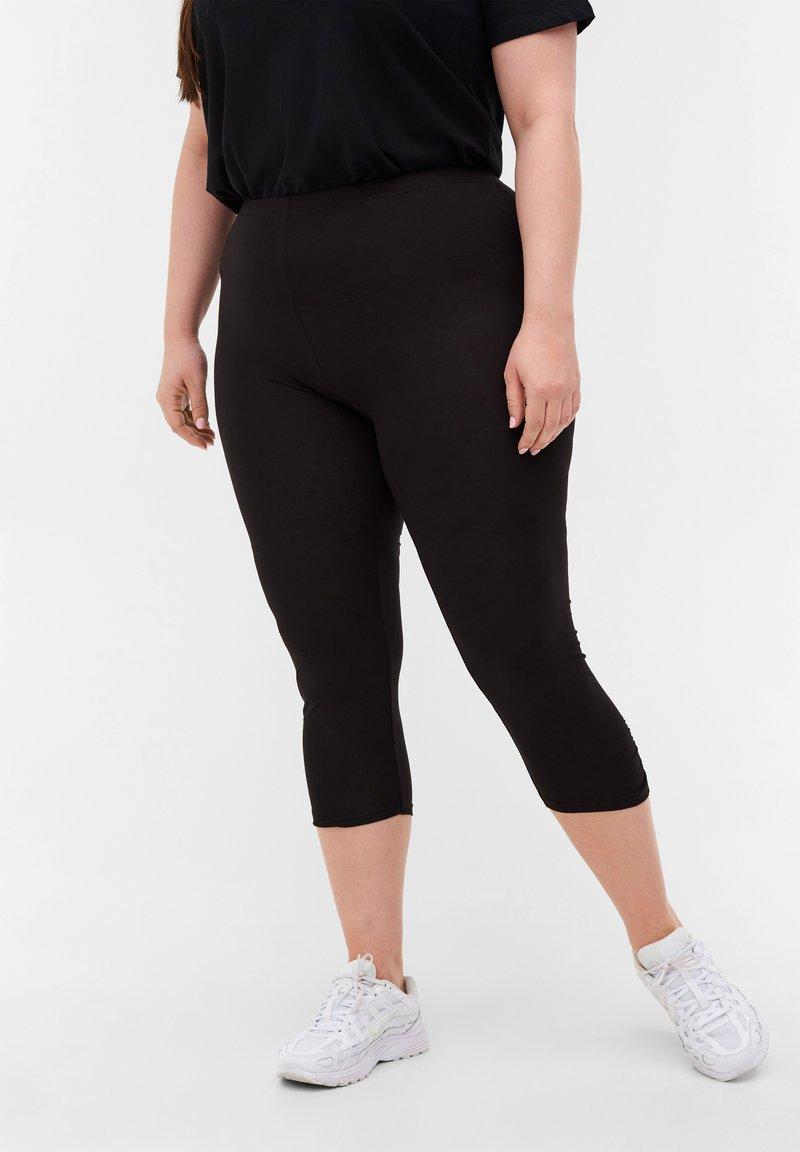 Zizzi - Leggings - Trousers - black