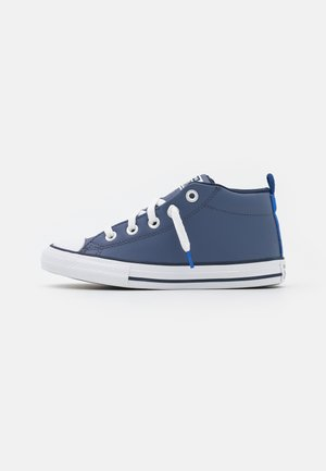 CHUCK TAYLOR ALL STAR STREET MID UNISEX - High-top trainers - steel/game royal/obsidian