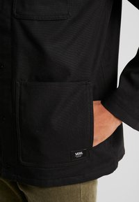 Vans - DRILL CHORE - Summer jacket - black