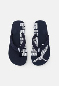 Puma - EPIC FLIP V2 UNISEX - T-bar sandals - peacoat/white - 3
