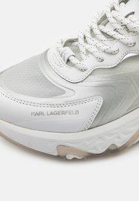 KARL LAGERFELD - BLAZE PYRO LACE - Tenisky - white - 4