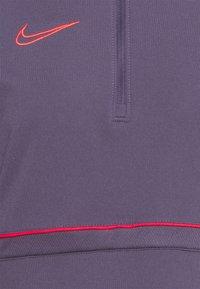 Nike Performance - DRY ACADEMY  - Sweatshirt - dark raisin/siren red - 2