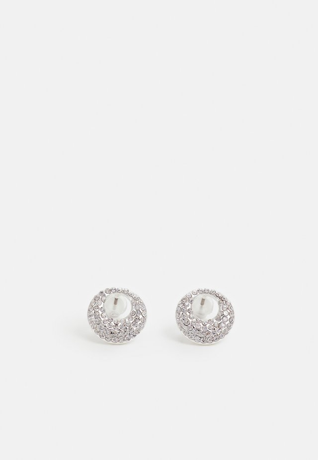 ANGLAIS SMALL - Boucles d'oreilles - silver-coloured