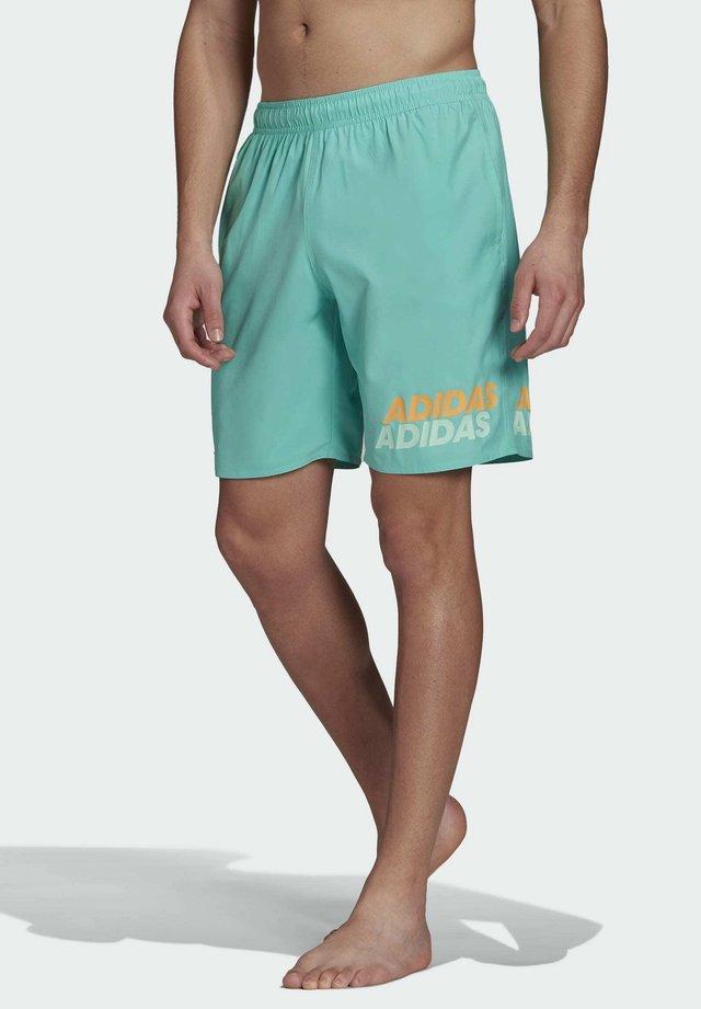 WORDING - Swimming shorts - green