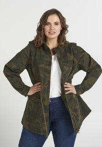 Zizzi - Summer jacket - army - 0