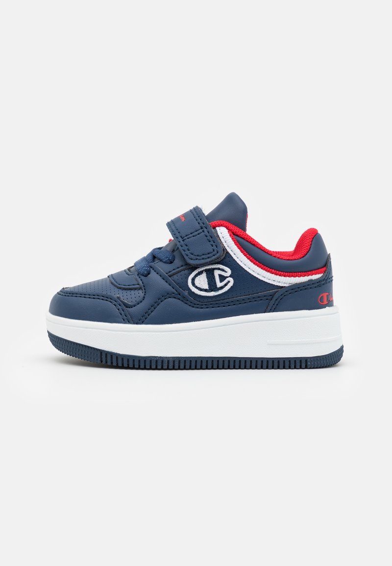 Champion - LOW CUT SHOE REBOUND UNISEX - Basketball shoes - navy