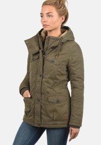 Desires - WINTERJACKE LEWANA - Winter jacket - khaki - 0