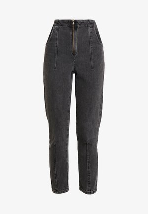 DART MOM - Relaxed fit jeans - washed black
