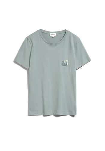 MARAA LITTLE LEAF - Print T-shirt - eucalyptus green