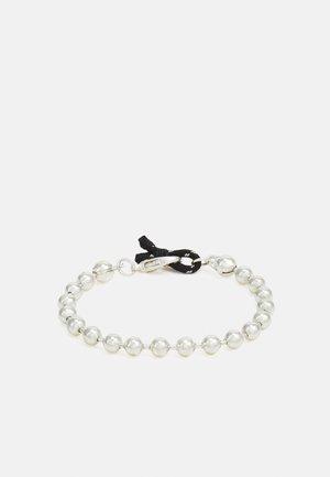 BALL CHAIN LOOP BRACELET - Bracelet - silver-coloured