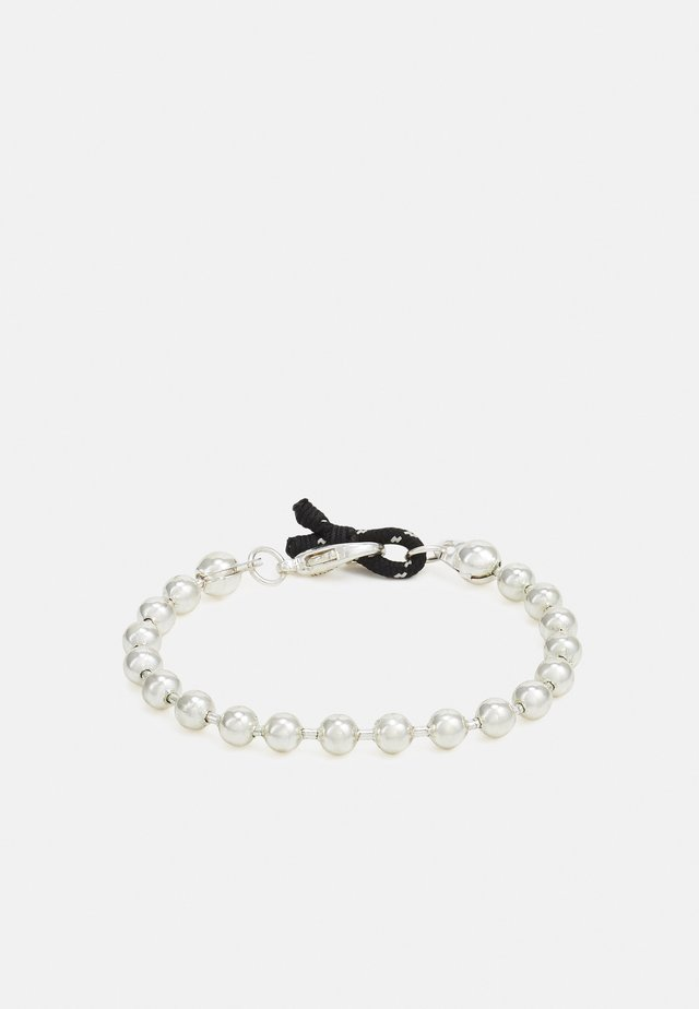 BALL CHAIN LOOP BRACELET - Armbånd - silver-coloured