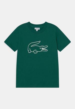 TEE LOGO UNISEX - Print T-shirt - dark green