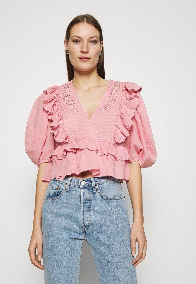 BLUSH BLOUSE - T-shirts print - pink