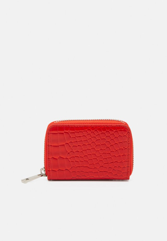 WALLET ZIPPER CROCO - Portafoglio - orange red