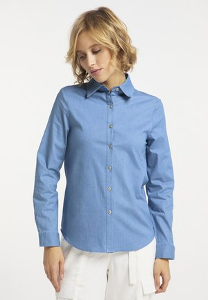 Button-down blouse - helldenim