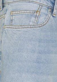 Pegador - PURRAL DISTRESSED ANKLE - Jean droit - light blue - 9