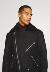 AllSaints - TERRO BIKER - Leather jacket - black - 4