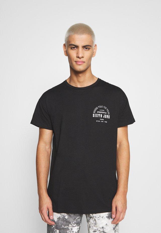 SOONER THAN YOU THINK TEE - T-shirt imprimé - black