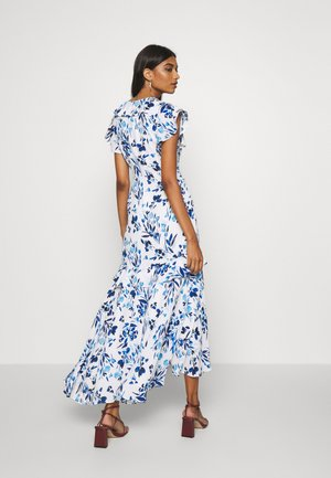 VNECK HI LOW - Robe longue - blue