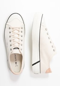 Lacoste - GRIPSHOT - Trainers - offwhite/black - 3
