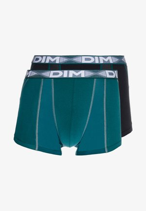 3D FLEX AIRBOXER 2 PACK - Shorty - pacific green/black