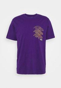 Fanatics - NFL BALTIMORE RAVENS CHAIN CORE GRAPHIC - Club wear - purple - 4