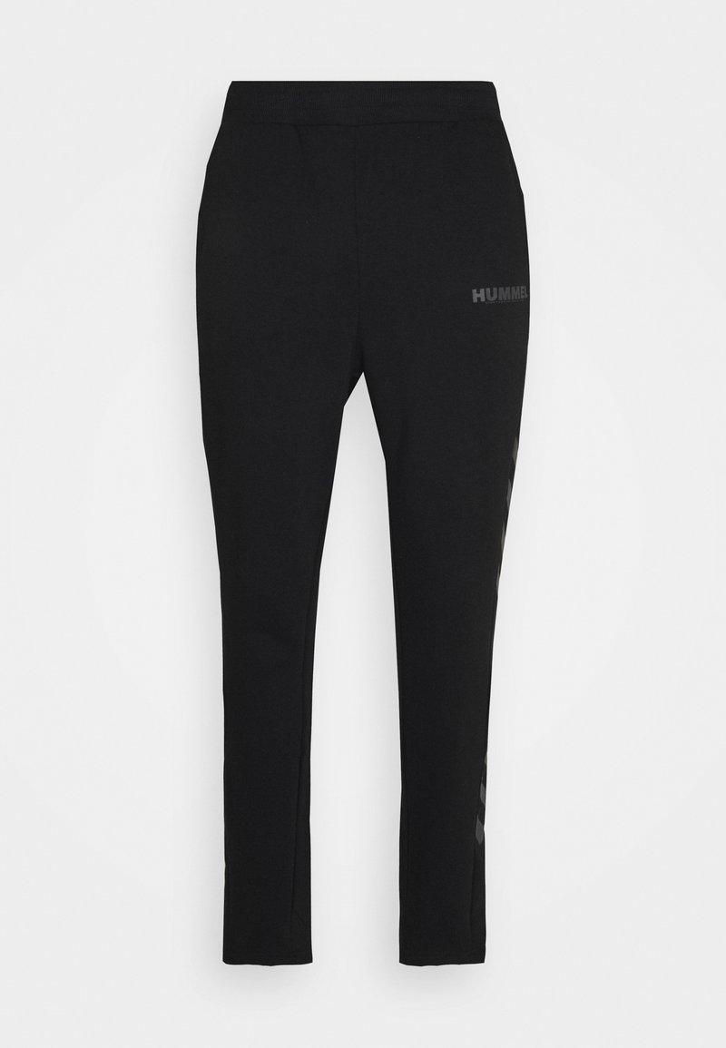 Hummel - LEGACY PANTS - Tracksuit bottoms - black