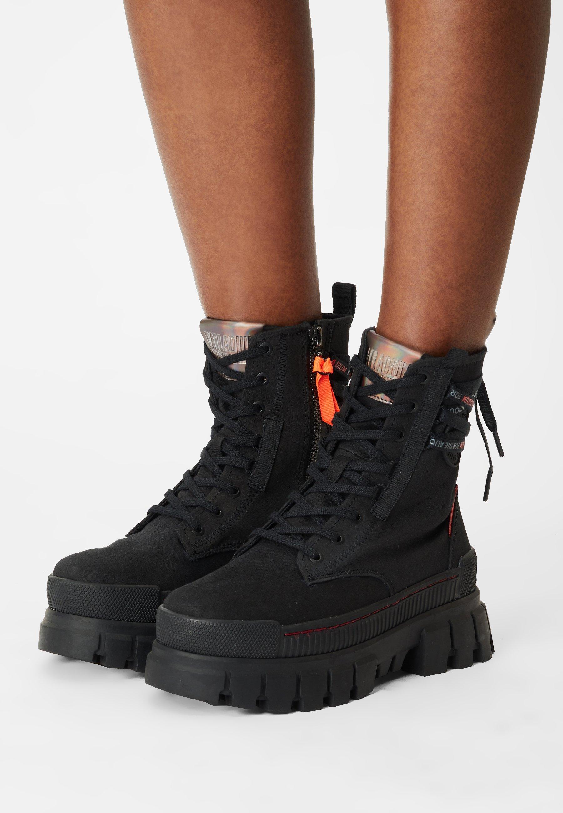 Women VEGAN REVOLT BOOT TX - Lace-up boots