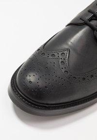 Barbour - OUSE - Smart lace-ups - black - 5