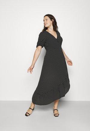 VMSAGA WRAP ANKLE DRESS - Maxi dress - black