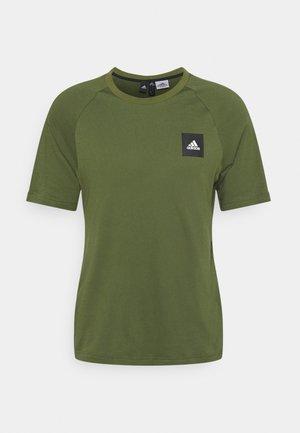 TEE - T-shirt imprimé - khaki