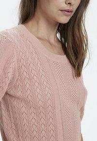 Cream - Print T-shirt - rose dawn - 4