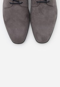 Pier One - Smart lace-ups - grey - 4
