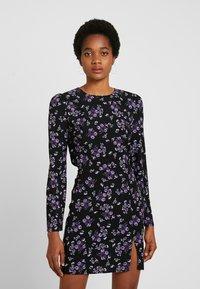 Fashion Union - MALIAN - Denní šaty - purple - 0
