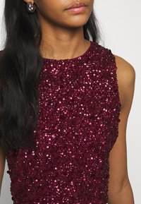 Lace & Beads - PICASSO - Top - burgundy - 4