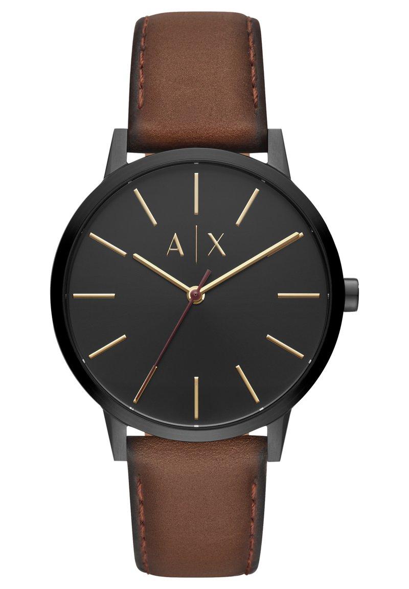 Armani Exchange - CAYDE - Watch - brown