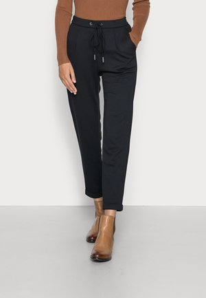 PIQUE JOGGER - Trousers - black