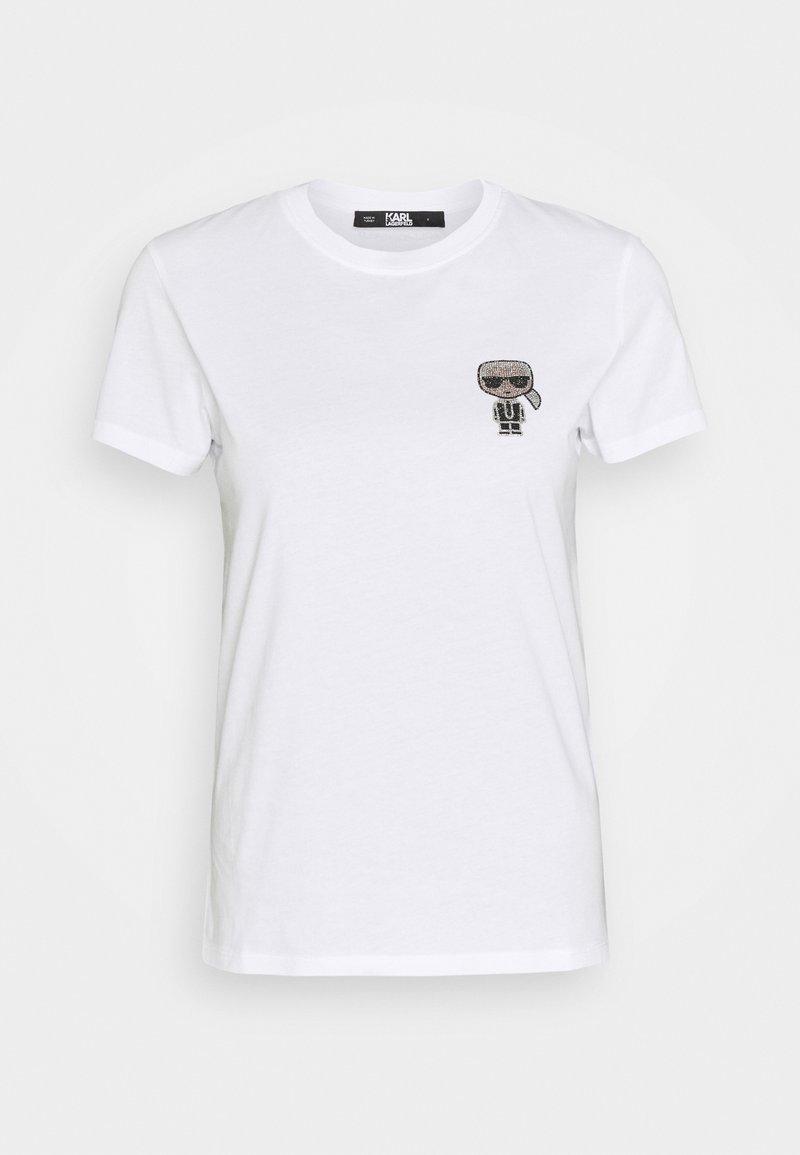KARL LAGERFELD - IKONIK MINI - T-shirts med print - white
