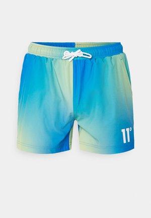 SUN BURST SHORTS - Shorts - blue radiance / avocado green