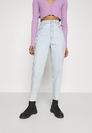 HIGH WAISTED - Jeans Tapered Fit - what the flip