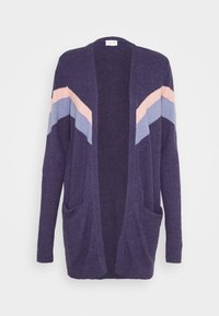 Vila - VIRIL OPEN  - Cardigan - patriot blue/stonewash - 4