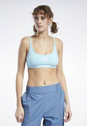 CLASSICS SMALL LOGO LOW-IMPACT BRA - Sports bra - blue